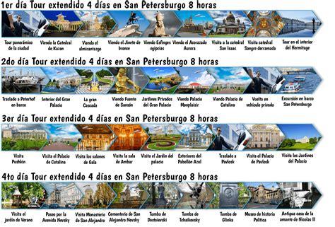 Tour extendido 4 días en San Petersburgo   con guía en español