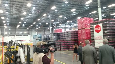 Tour of the Coca Cola Distribution Center   YouTube