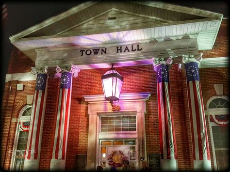 Town Hall in Georgetown, Delaware   Town Hall building ...