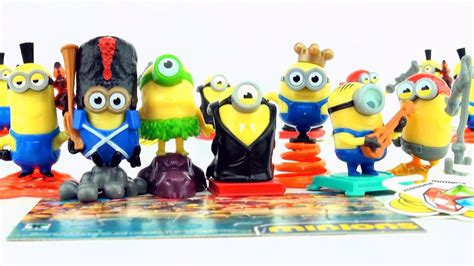 Toy minions Kinder Surprise Chocolate eggs from a giant ...