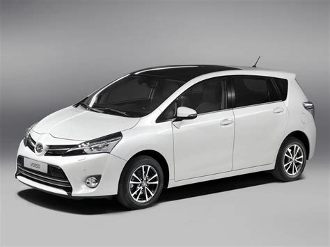 Toyota Verso technical specifications and fuel economy