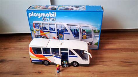 Toys R Us Playmobil City Life 5106. Bus Playmobil.   YouTube