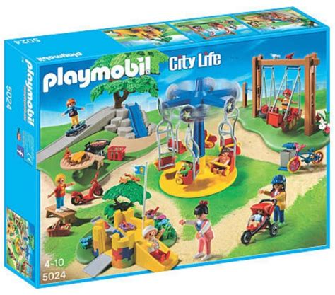 Toys R Us: Playmobil City Life Children's Playground Only ...