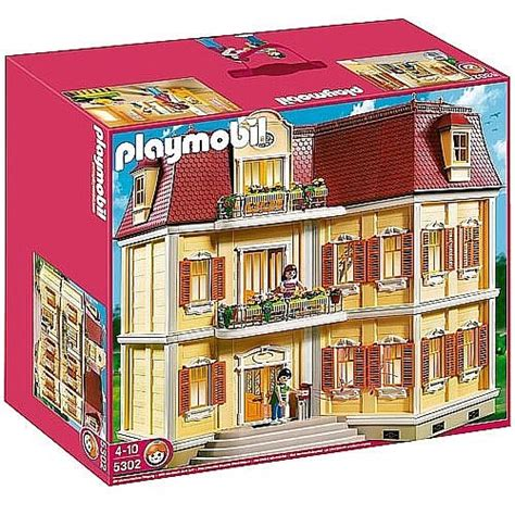 Toys  R  Us   Playmobil   Gran Casa de Muñecas   5302 ...