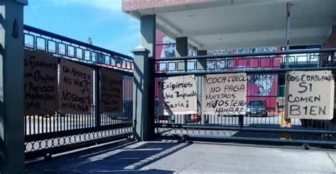 Trabajadores de Coca Cola Valencia en paro para exigir ...