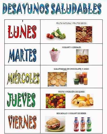 Trabajando en Educación Infantil: Desayunos saludables 2 ...