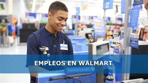 Trabajo en USA: Revisa las ofertas de Empleo en Walmart