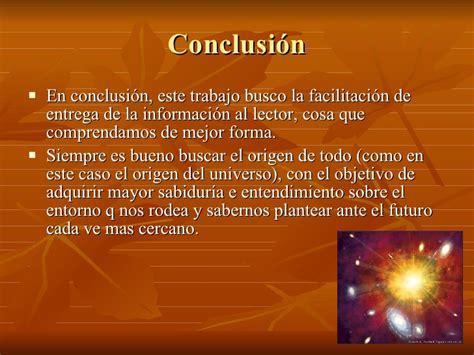 trabajo grupal, teoria del big bang