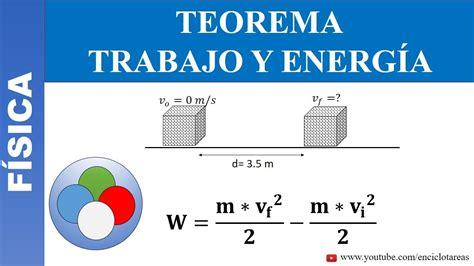 TRABAJO Y ENERGIA   VELOCIDAD FINAL   EJERCICIO RESUELTO ...