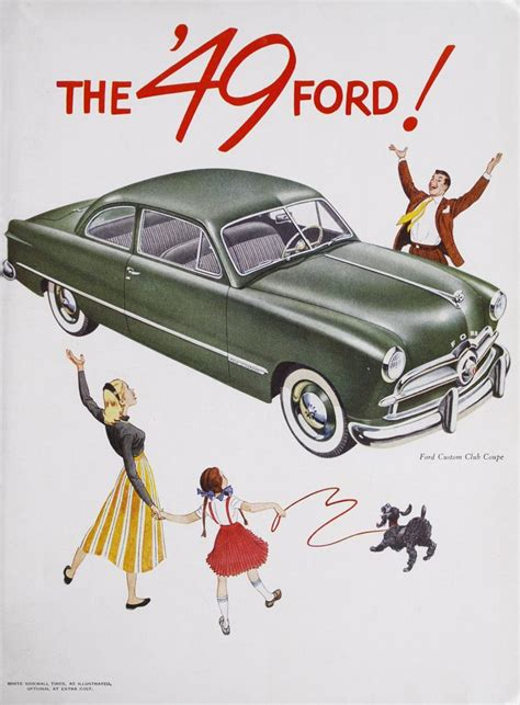 Trade catalog for the 1949 Ford. | Ford motor company ...