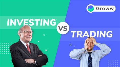 Trading vs. Investing: Differences Between Stock Trading ...