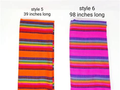 Traditional colorful Mexican fabric / Mexican Fiesta decor ...
