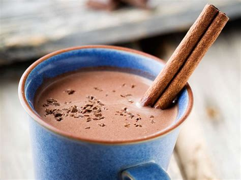 Traditional Mexican Atole with a Touch of Chocolate   Milk ...