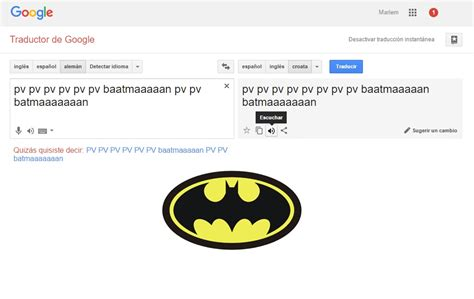 Traductor de Google  canta  intro de Batman   ExtraMediaUk