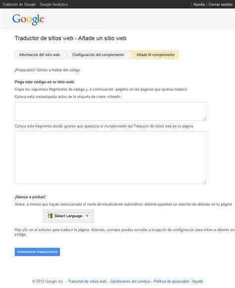Traductor De Google De Paginas Web   Izay