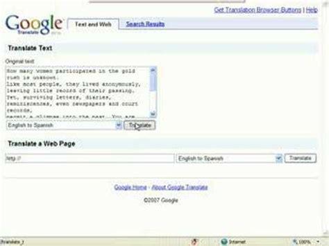 Traductor Google   YouTube