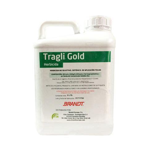 Tragli Gold herbicida Glifosato 36%   Tienda Agrícola Sercopag