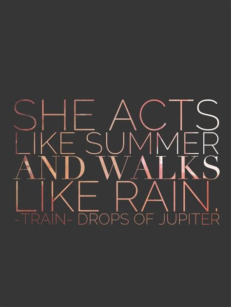 Train lyrics. #dropsofjupiter   Train lyrics, Great song ...
