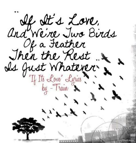 Train lyrics   If it s love    Love song lyrics quotes ...