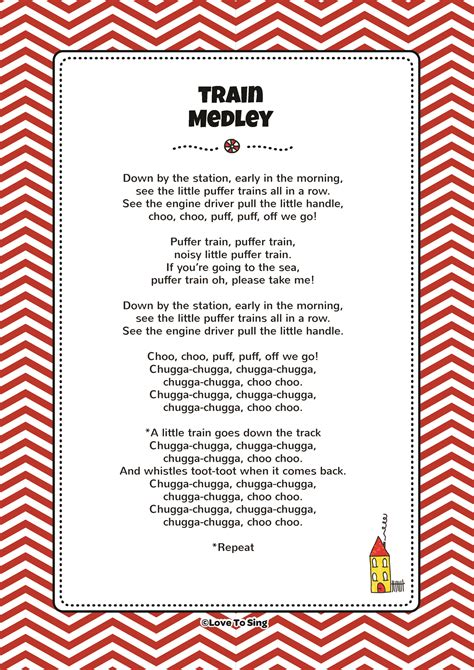 Train Medley   Kids Video Song with FREE Lyrics & Activities!