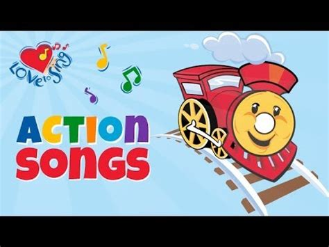 Train Song for Kids with Lyrics   Kids Transport Songs ...