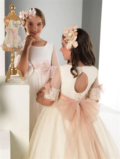 Trajes de comunión niñas nueva colección | Blog HigarNovias