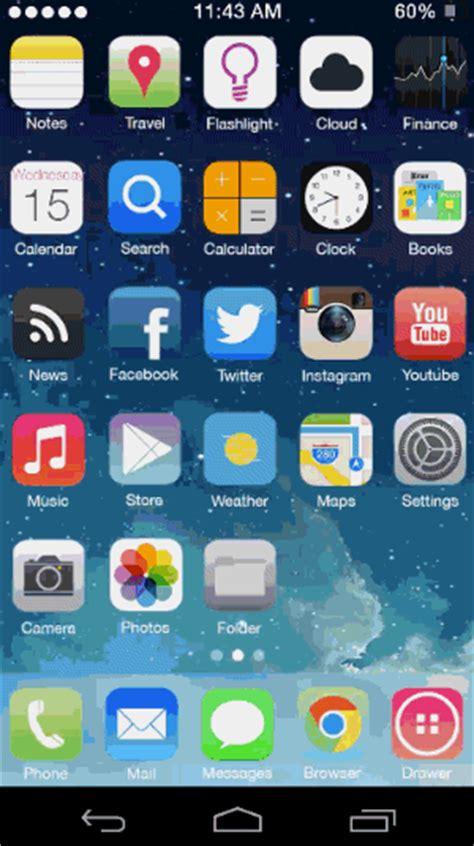 Transforma la pantalla de inicio de Android en una similar ...