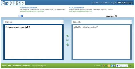 Translate English Words to Spanish in Real Time Online ...