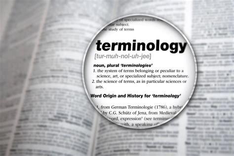 Translation Terminologies | Prestige Network ...