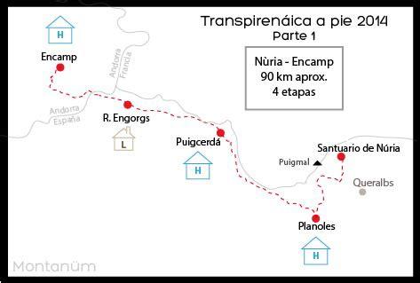 Transpirenáica a pie 2014   Diario de preparación
