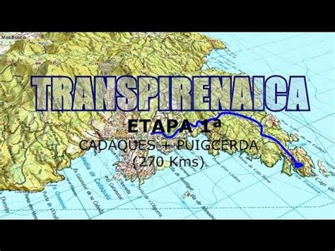 TRANSPIRENAICA TRAIL  ETAPA UNO    YouTube
