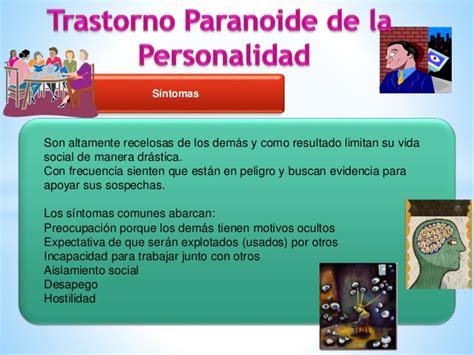 Trastorno Paranoide de la Personalidad  PSICOLOGÍA