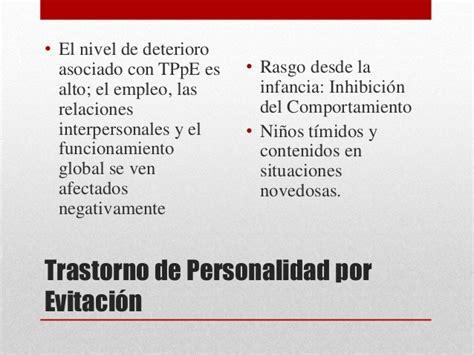Trastornos de la Personalidad DSM 5
