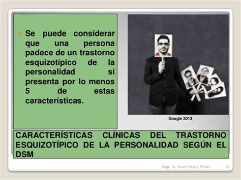 TRASTORNOS GRUPO A SEGÚN EL DSM  TRASTORNOS RAROS O ...