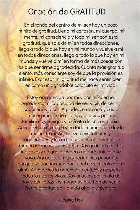Tratamiento de gratitud | Oración de agradecimiento ...