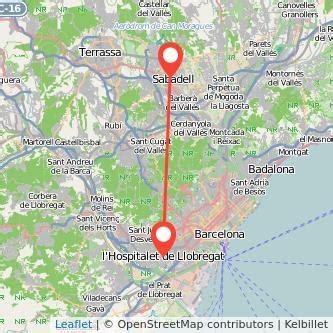 Tren Sabadell   L Hospitalet de Llobregat | Gopili.es