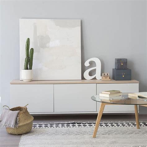 Trend mueble tv con puertas 180 cm   Kenay Home