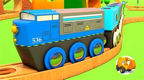 Trenes infantiles   Videos de trenes con Coches ...