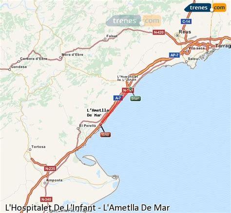 Trenes L Hospitalet De L Infant L Ametlla De Mar baratos ...