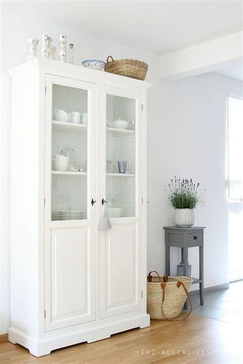 três ... armarios vitrina de estilo vintage | country ...