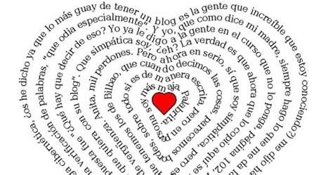Tres cosas muy chulis: texto en forma de corazón, dibujo ...