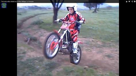 Trial moto niños infantil en la Vélez Málaga  La Axarquía ...