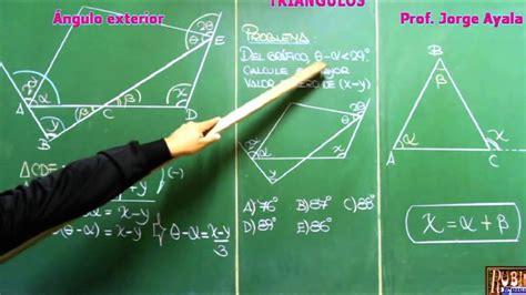 Triángulos   Full Problemas Resueltos de Geometría ...