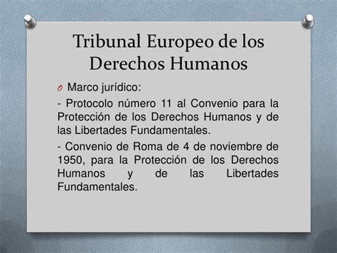 Tribunales supranacionales