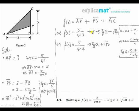 Trigonometria calcular perímetro M3a12P   YouTube