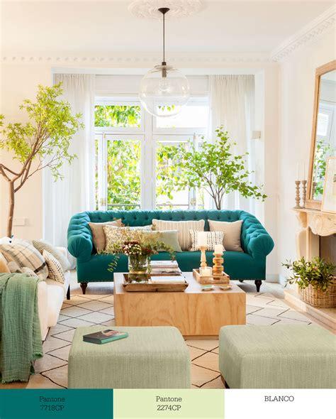 Tríos de colores que transforman tu salón