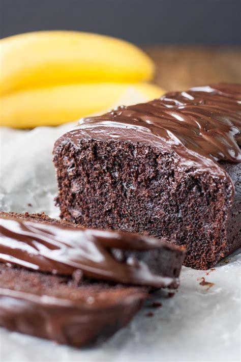 Triple Chocolate Banana Bread : Liv for Cake