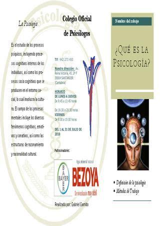 Triptico sobre la psicología by Gabriel Garrido   Issuu