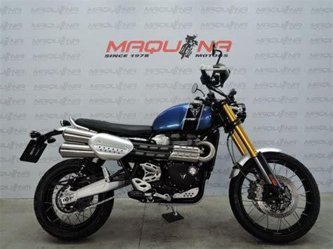 TRIUMPH SCRAMBLER 1200 – Maquina Motors motos ocasión