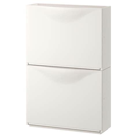 TRONES Shoe/storage cabinet, white, 20 1/2x15 3/8    IKEA